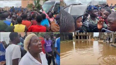 Urgent Fortes Pluies A Keur Massar Mnifeurstation Des Jeunes Les Rues W5Meczmo8Oy Image