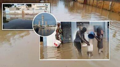 Urgent Touba Le Quartier Darou Khodoss Tokor Ba Sous Les Eaux 8Iuhatizcii Image