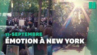 11 Septembre 2001 Les Images Emouvantes Du Recueillement A New York 20 Ans Apres Lattentat W0Hmg Jooc Image