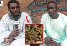13Ans Apres Leur Combat Mbaye Diouf Chez Bg2 Pour Presenter Ses Condoleances Yipnz6Nola8 Image