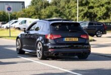 520Hp Stage 2 Audi Rs3 8V Sportback With Decat Milltek Exhaust Loud Accelerations Revs Jhcfcd8Aqew Image