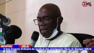 6 Eme Congres Ordinaire Du Syndicat Des Enseignants Libres Du Senegal Sels Okd0Rwtysx8 Image