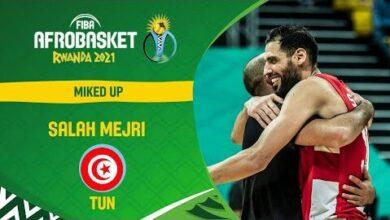 Afrobaskets Champion Salah Mejri Micd Up Afrobaskets 2021 Fmxq4Mynuqe Image