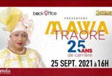 Agenda De La Semaine Du 20 Au 25 Septembre 2021 Concert Des 25 Ans De Carriere De Mawa Traore B7Frluf4Szs Image