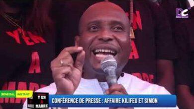 Barthelemy Dias Affaire Kilifeu Et Simon Macky Sall Mangui Len Di Khar Imc3Zj5Yoam Image