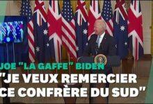 Biden A Eu Un Peu De Mal Au Moment De Remercier Le Premier Ministre Australien Xlsw 0Axv5A Image