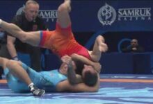 Big Move Monday The Best Slowmotions From Wrestlenursultan Worlds 2019 Wsn4E3Bnyju Image