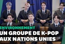 Bts Groupe Star De Coree Du Sud Invite A Lonu Pour Parler Developpement Durable Ow4Ry Vzzgu Image
