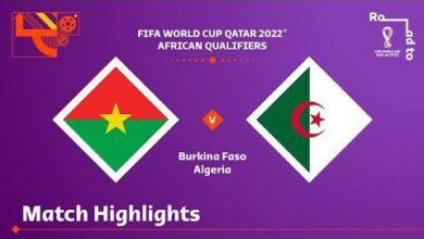 Burkina Faso V Algeria Fifa World Cup Qatar 2022 Qualifier Match Highlights Hgjbs6Wz0Gk Image