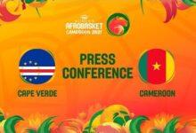 Cape Verde V Cameroon Press Conference Fiba Womens Afrobasket 2021 Cs 6N5Pvy A Image