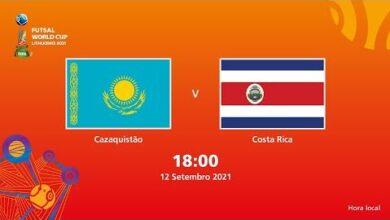 Cazaquistao V Costa Rica Copa Do Mundo Fifa De Futsal De 2021 Partida Completa H88Oxr6Lhni Image