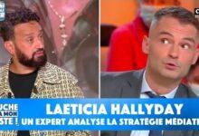 Cest Choquant Un Expert En Communication Analyse La Strategie Mediatique De Laeticia Hallyday B8Kuw7Lwpru Image