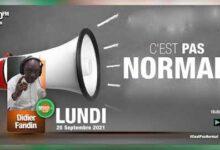 Cest Pas Normal Du 20 Septembre 2021 Par Didier Fandin Richmond Radio Cote Divoire Y Coyovzv2E Image