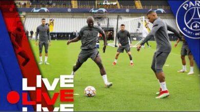 Club Bruges Paris Saint Germain Lavant Match Au Jan Breydel Stadion D0Wvbylzfo Image