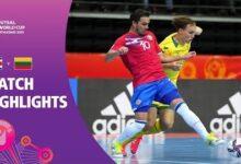 Costa Rica V Lithuania Fifa Futsal World Cup 2021 Match Highlights 4Kptjcqspi Image