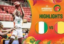 Cote Divoire Guinea Game Highlights Fiba Womens Afrobasket 2021 Drwfbzsoz9K Image