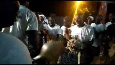 Danse Traditionnelle Goli Dans Le Village De Gbomi Situe Entre Yamoussoukro Et Tiebissou Ggww6 Psztw Image