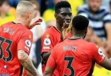 Double De Ismaila Sarr Qui Permet A Watford De Se Signer Une Importante Victoire A Norwich 2Xv5M42Vnpk Image