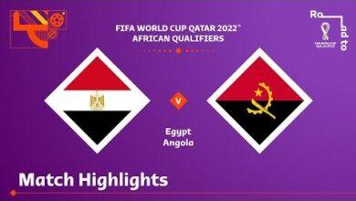 Egypt V Angola Fifa World Cup Qatar 2022 Match Highlights Ri5Igq9Ugqc Image