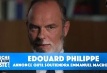 Election Presidentielle De 2022 Edouard Philippe Annonce Quil Soutiendra Emmanuel Macron Pt Sri37Xi4 Image
