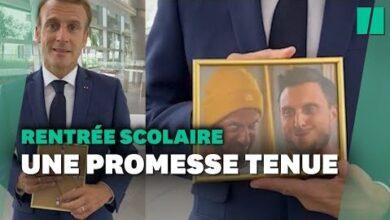 Emmanuel Macron A Attendu La Rentree Pour Tenir Sa Promesse Faite A Mcfly Et Carlito Dew3Zv9Xs8C Image