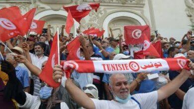 En Tunisie Une Manifestation Contre Le Coup De Force De Kais Saied O France 24 Pi0Higgp27E Image