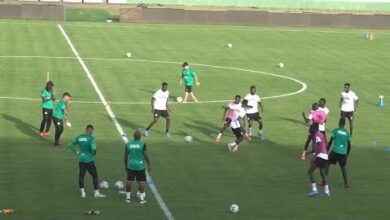 Entrainement De Lequipe Nationale De Football Du Senegal Senegal Togo Rwayvvhblmq Image