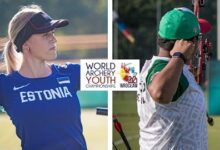 Estonia V Mexico Compound Junior Mixed Team Gold Wroclaw 2021 World Archery Youth Championships Bfizwkgkvm0 Image