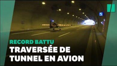 Faire Voler Un Avion Dans Un Tunnel Le Pilote Dario Costa La Fait Zaijv2Esh C Image