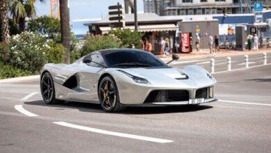 Ferrari Laferrari Start Up Accelerations Driving In Monaco Avvm7Pdzzh0 Image