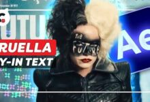 Fly In 3D Newspapers From Cruella After Effects Tutorial Spog8Jwlwnc Image