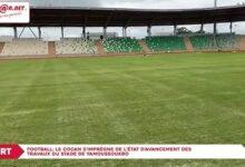 Football Le Cocan Simpregne De Letat Davancement Des Travaux Du Stade De Yamoussoukro Mg2Doqurx7C Image