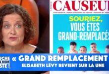 Grand Remplacement Elisabeth Levy Revient Sur La Une Du Magazine Causeur Rfjdo5Hnhkw Image
