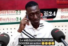 Ici Au Faso Le Web Humoriste Burkinabe Dogoba En Action Cboo7Kftxve Image