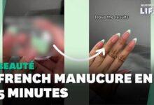 Impossible De Ne Pas Reussir Votre French Manucure Avec Cette Astuce X70Wruvo94G Image