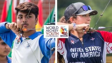 India V Usa Compound Cadet Mixed Team Gold Wroclaw 2021 World Archery Youth Championships E12Ftbk9S S Image