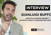 Interview Gianluigi Buffon Mon Plus Grand Regret Le Match Contre Manchester United Bbxaujk Fx0 Image