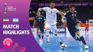 Ir Iran V Argentina Fifa Futsal World Cup 2021 Match Highlights Hgnrrsgknmk Image