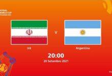 Ira V Argentina Copa Do Mundo Fifa De Futsal De 2021 Partida Completa S9Em3Ts8Diy Image