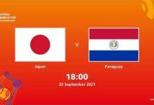 Japan V Paraguay Fifa Futsal World Cup 2021 Full Match Bzts Nwvk28 Image