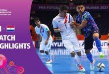 Japan V Paraguay Fifa Futsal World Cup 2021 Match Highlights Dakarwjrkd0 Image