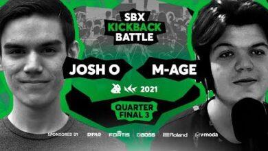 Josh O Vs M Age Quarterfinal 3 Sbx Kbb21 Loopstation Edition T3Exypcqu4Q Image
