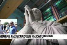 Journees Du Patrimoine Le Chantier De Notre Dame De Paris Mis A Lhonneur O France 24 5Wa5Uhzqtjk Image