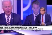 La France Abandonnee Par Ses Partenaires Europeens Dans La Crise Des Sous Marins O France 24 Rp5F0Vehfvs Image
