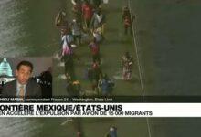 Ladministration Biden Promet Daccelerer Lexpulsion De 15 000 Migrants Reunis Sous Un Pont Yz6Dpng2I8C Image