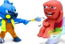 Le Blue Est Un Nettoyant Dur Argile Stop Motion Dessin Anime Clay Mixer Francais Wbcfxuvt2Ky Image