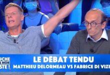 Le Debat Tendu Entre Matthieu Delormeau Et Fabrice Di Vizio Vous Faites Du One Man Show Bpzrjavc4Wq Image