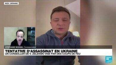 Le Premier Conseiller Du President Ukrainien Vise Par Une Tentative Dassassinat O France 24 Khvga6Xpd1I Image