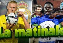 Le Real Madrid A Lavantage Pour Haaland Bamba Dieng Vivement Critique Matinale G96Bhtui1Bm Image