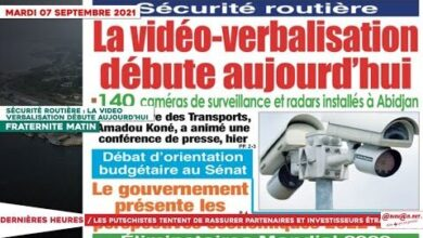 Le Titrologue Du 07 Septembre 2021 Securite Routiere La Video Verbalisation A Debute Bohendpbcxg Image
